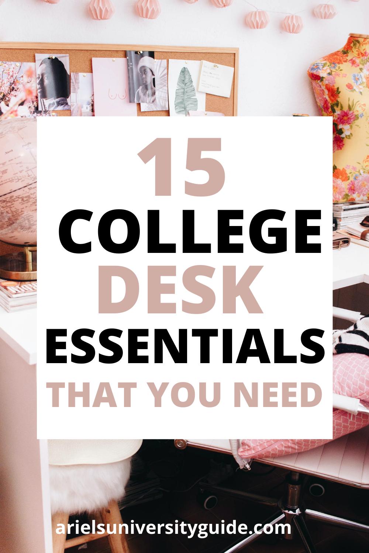 college essentials