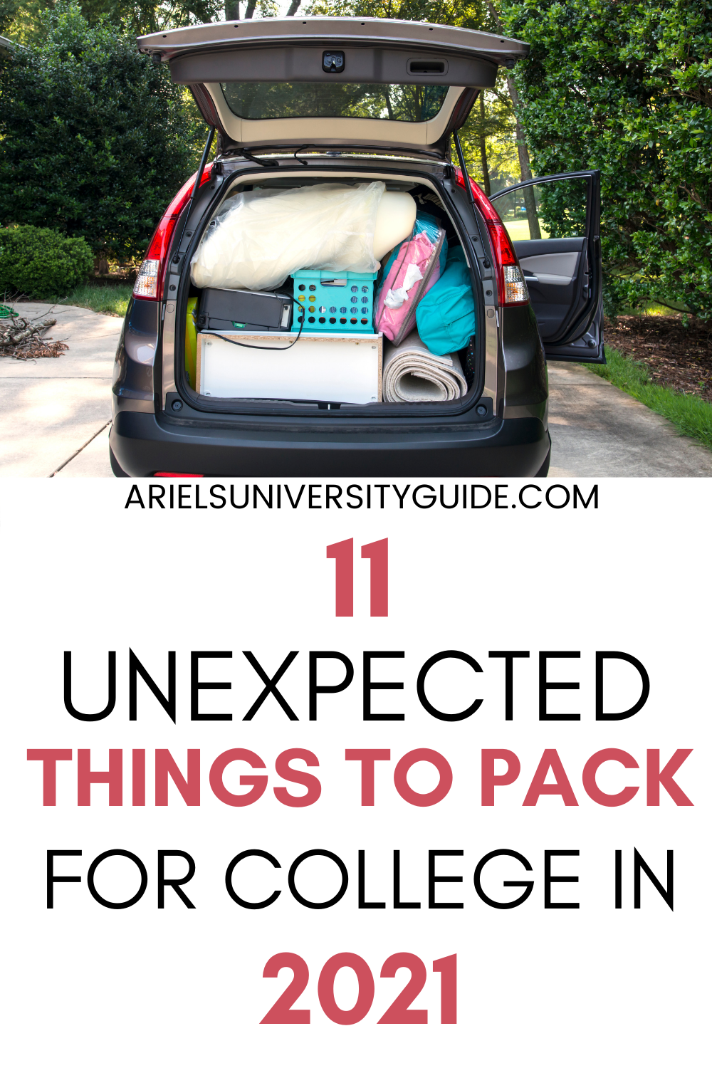 unexpected things to bring to college