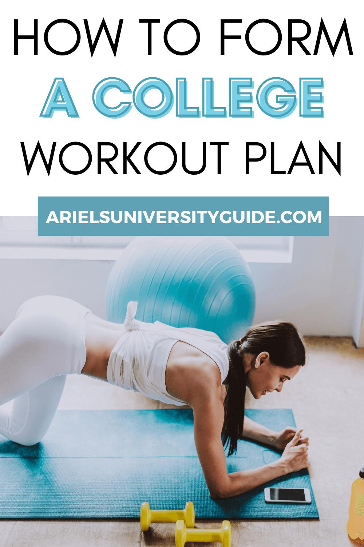 college girl workout plan