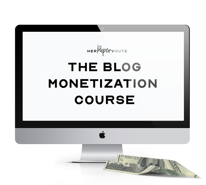 blog monetization course